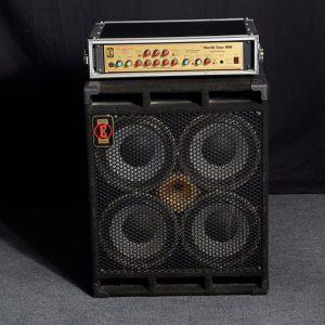Eden WT900 Bass Rig